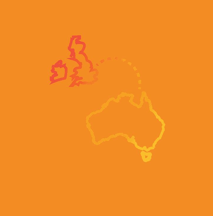 AUSTRALIA & THE UK