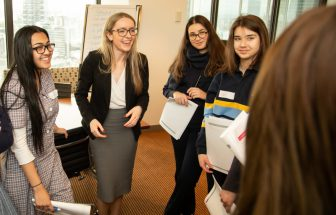 Mentor program gives disadvantaged students a career boost